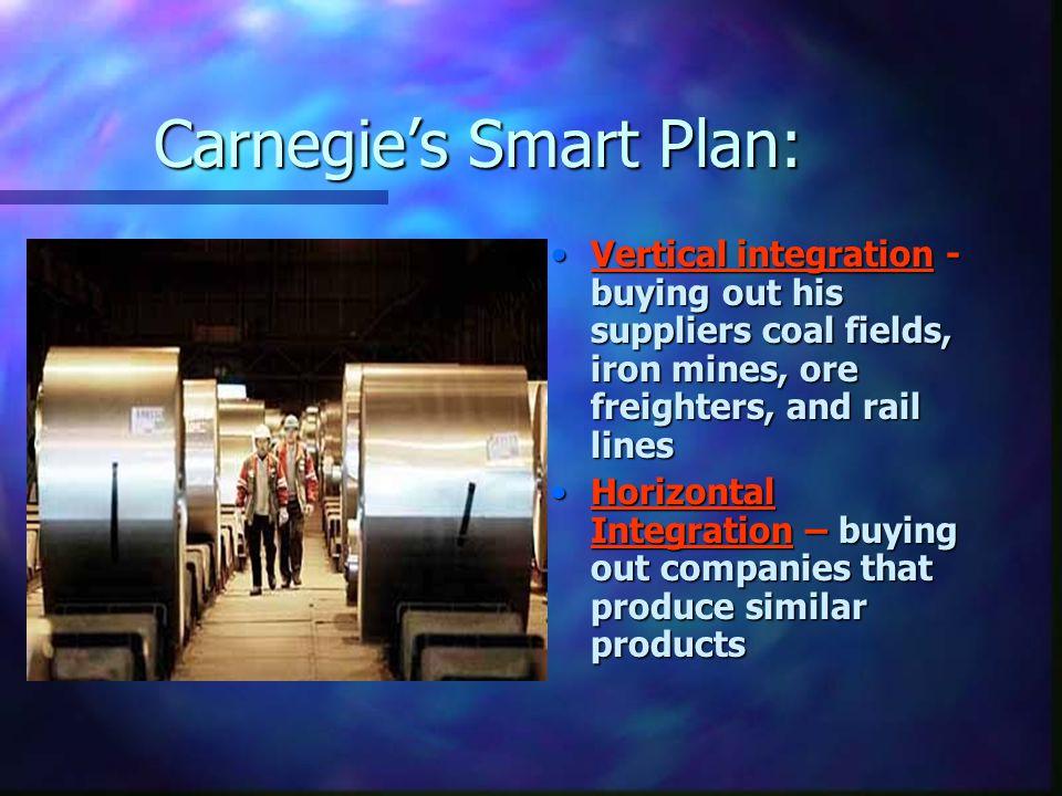 Carnegie's Smart Plan: