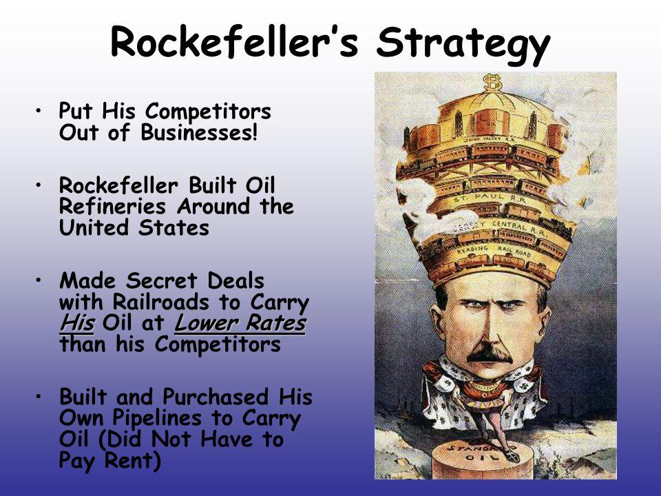 Rockefeller's Strategy