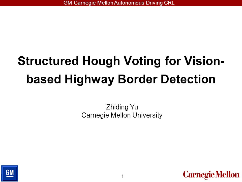 Structured Hough Voting for Vision-based Highway Border Detection
