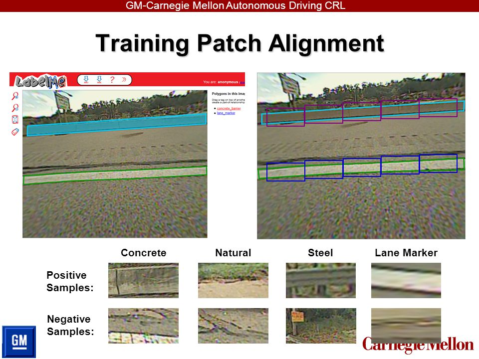 Training Patch Alignment