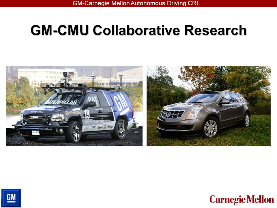 GM-CMU Collaborative Research