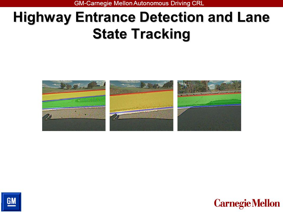 Highway Entrance Detection and Lane State Tracking