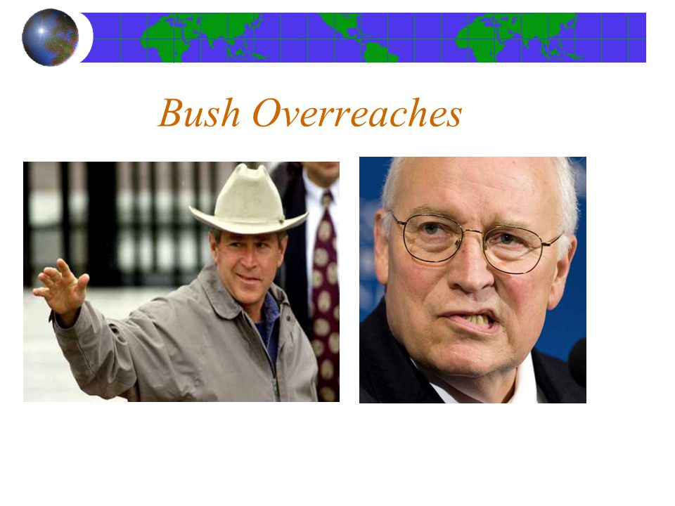 Bush Overreaches -Afghanistan- Taliban is not the enemy
