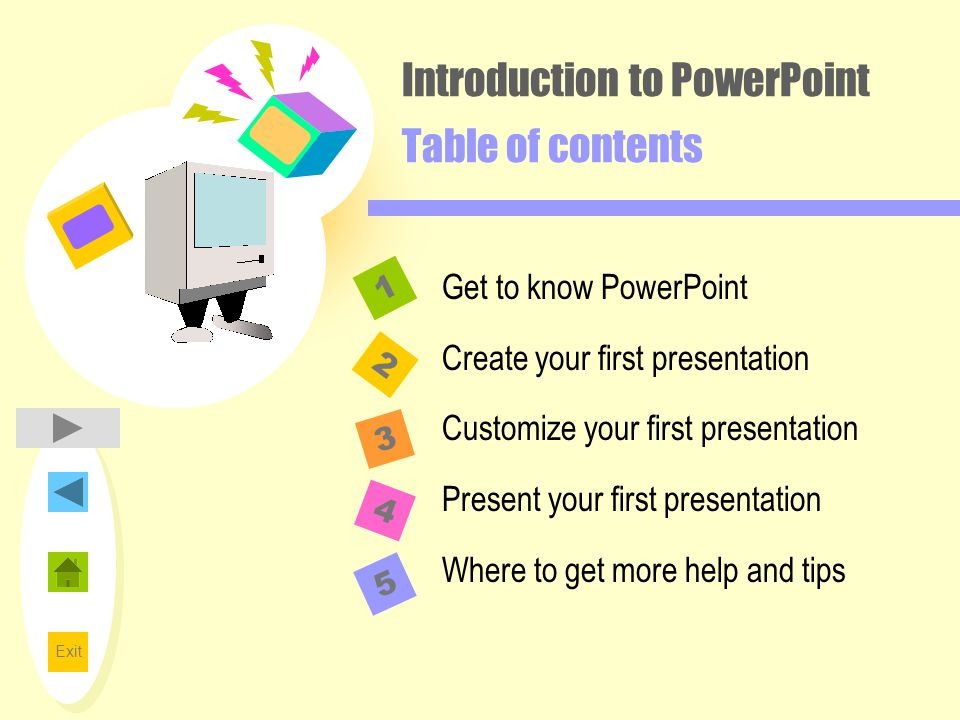 how to play powerpoint presentation without clicking
