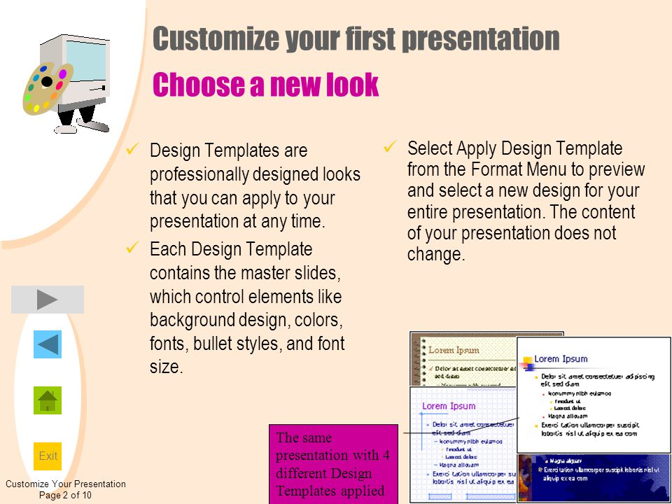 introduction to powerpoint - ppt download, Presentation templates