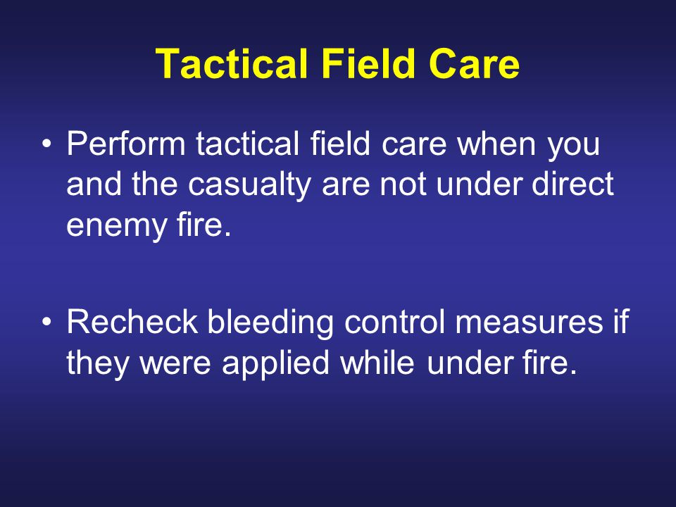 Move Under Direct Fire : Performing tactical combat casualty care ppt video