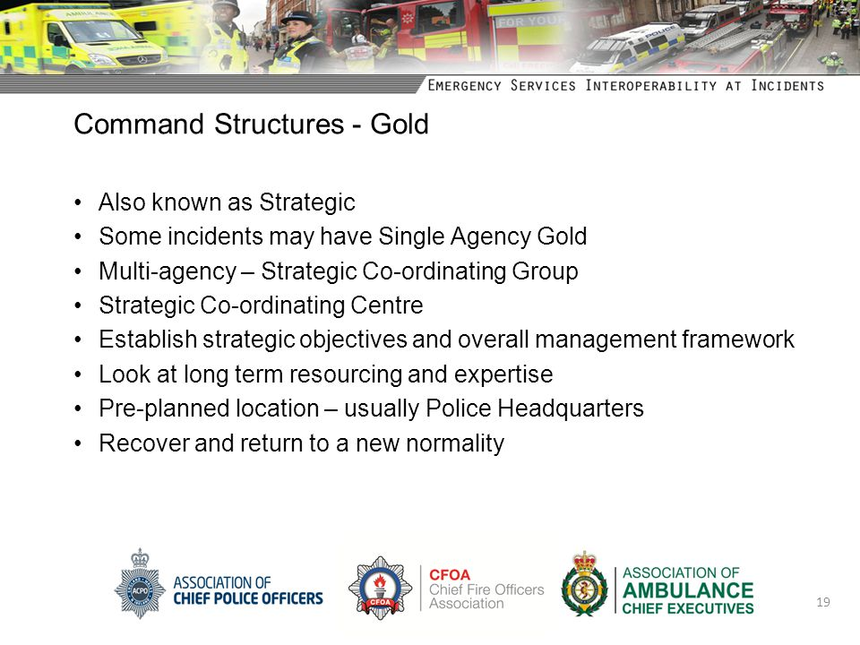 Command Structures - Gold