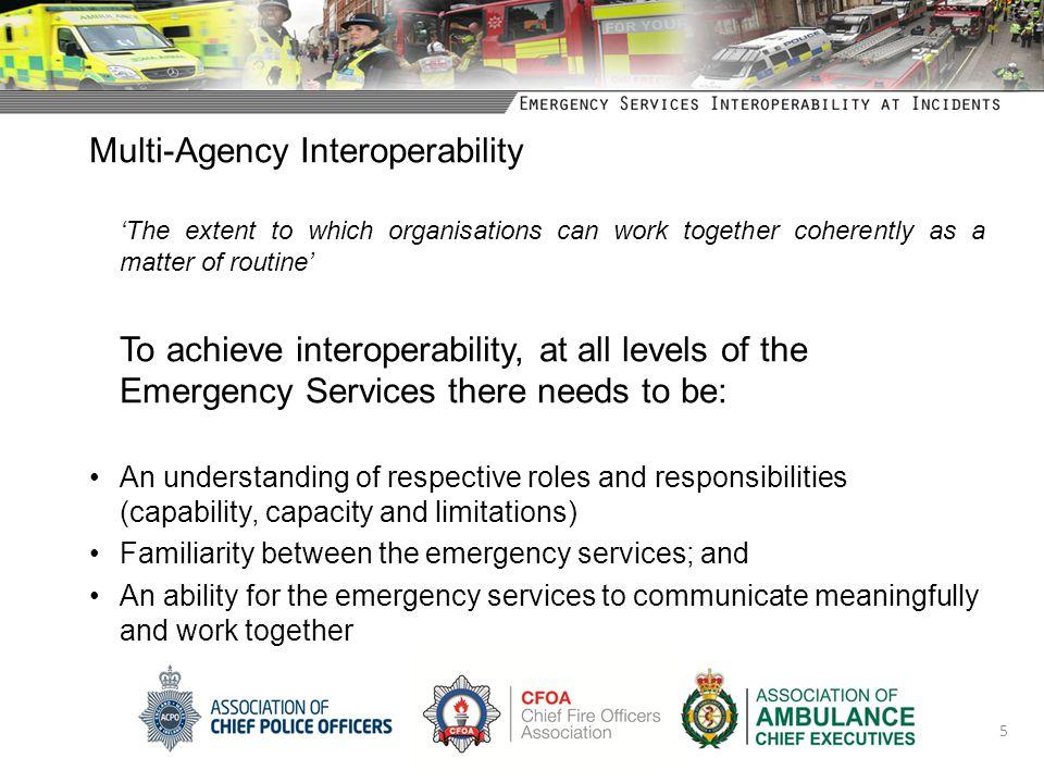 Multi-Agency Interoperability