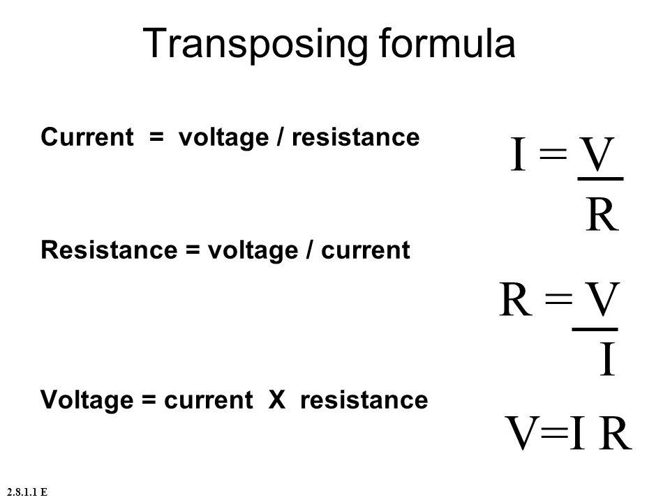 Voltage Current Resistance : Ekas basic electrical principles ppt video online download