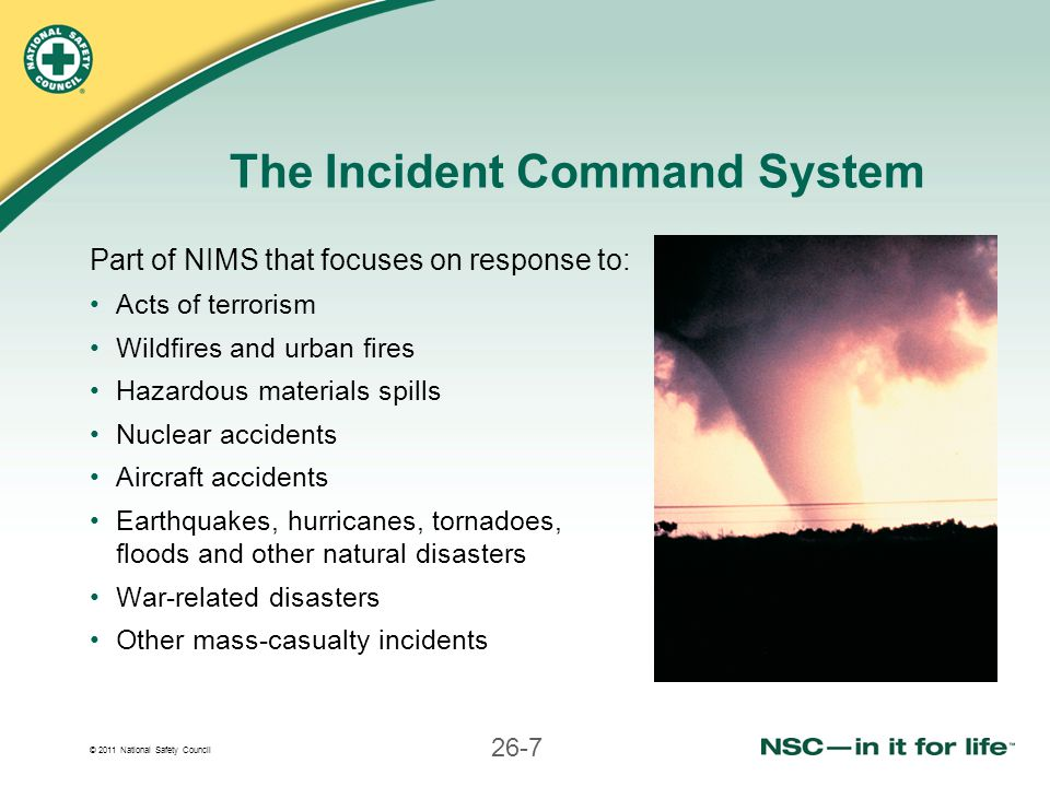 Natural Disasters Command