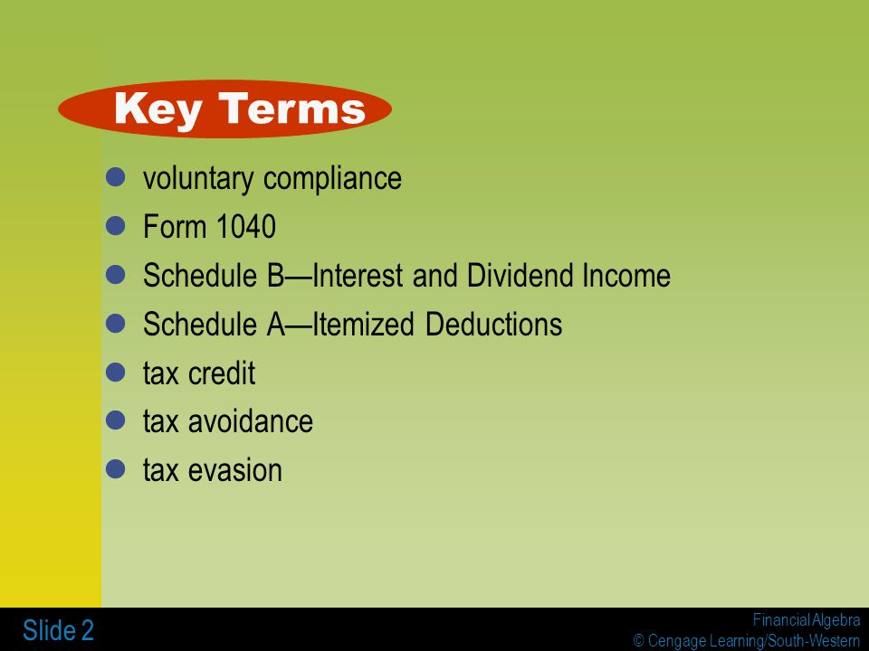 7 5 Form 1040 And Schedules A And B Ppt Video Online Download