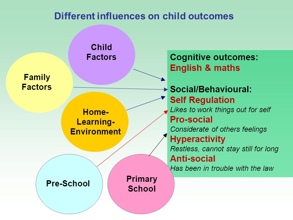 family environment and influences in learning at school Established that school environment and peer influence made significant contribution to the students' academic performance a school, as a learning institution and as a second home for learners, has a strong relationship with.