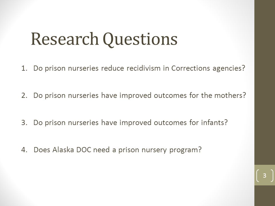Prison Research Papers