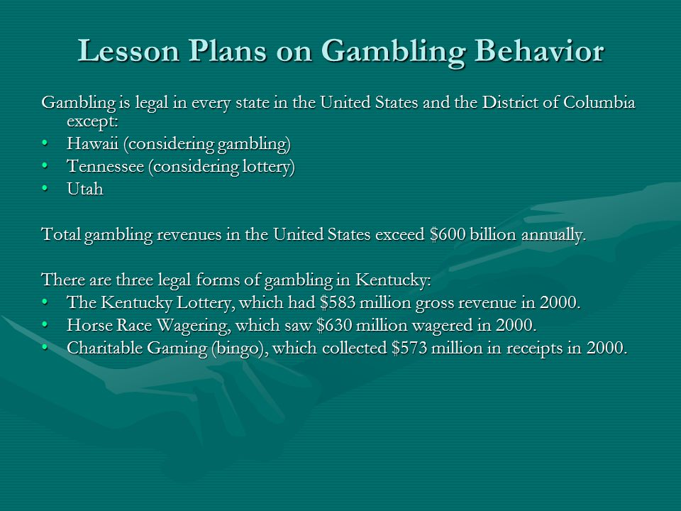 a report on gambling Pennsylvania gaming control board reports decrease in tables games revenue in april or someone you know, has a gambling problem, find help here {hidesearch.