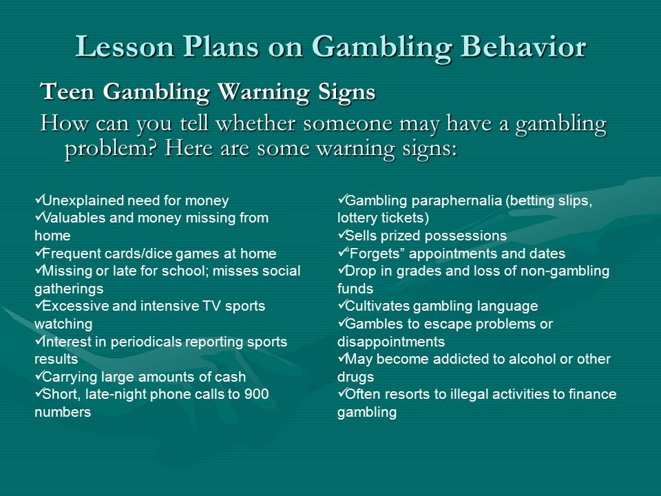 problem gambling and monetary issues essay The impact of social media gambling sites chips in players' accounts have no monetary value gender and problem gambling severity among college students.
