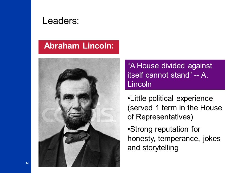 the leadership of abraham lincoln essay Abraham lincoln and leadership - abraham lincoln essay example abraham lincoln and leadership throughout the history, the world has seen leaders of different kinds across different countries – either famous or infamous in their own respective fields - abraham lincoln and leadership introduction.