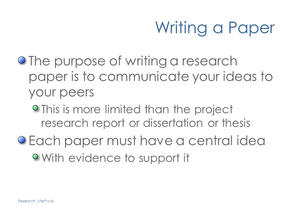 purpose of research paper writing Probably the most daunting task for any writer is to generate an effective thesis statement in college, academic writing research proposals, in some purpose.