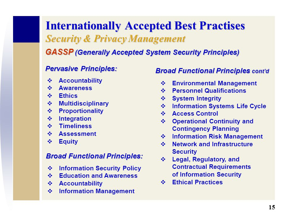 The Principles and Policies of Information Security Essay Sample