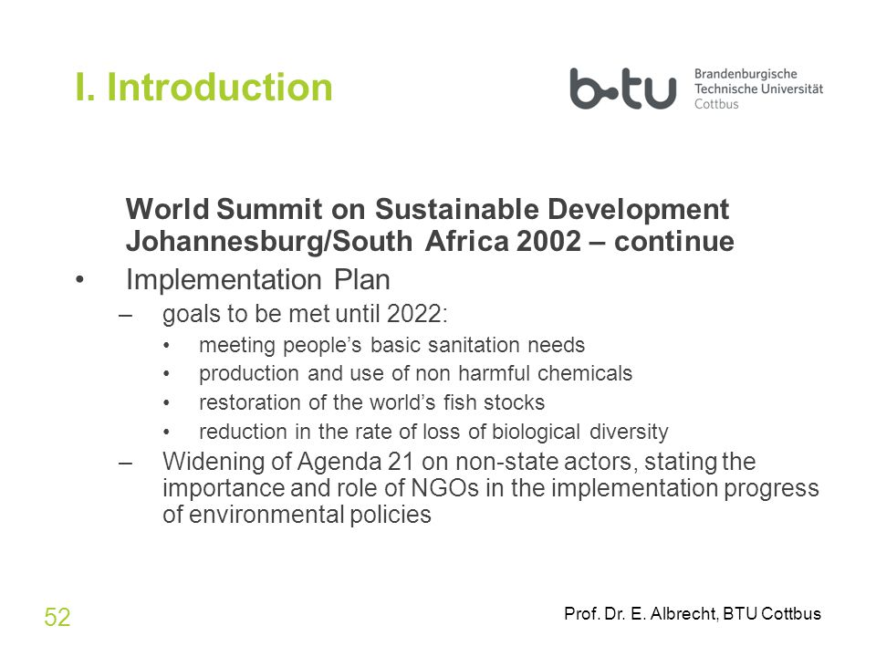 an introduction to biological diversity and sustainable development Convention on biological diversity: summary and analysis nele matz-lück biodiversity is the foundation of life on earth and one of the pillars of sustainable development1 i introduction ii the eighth conference of the parties 1 thematic areas and subjects for in-depth consideration 2 summary of selected decisions.