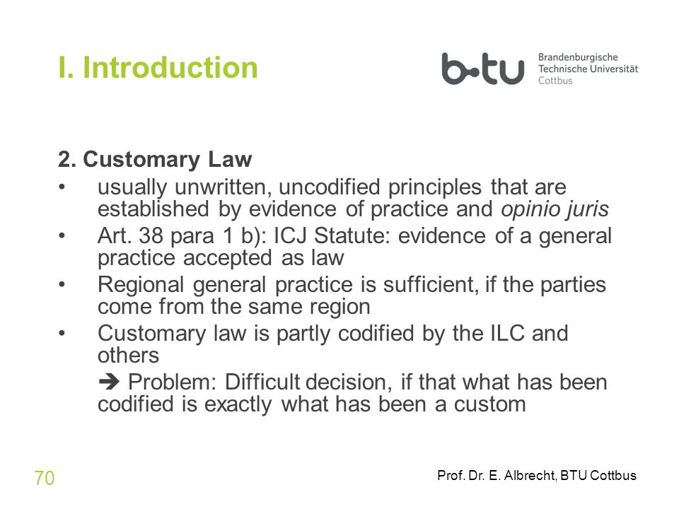 what is customary international law pdf