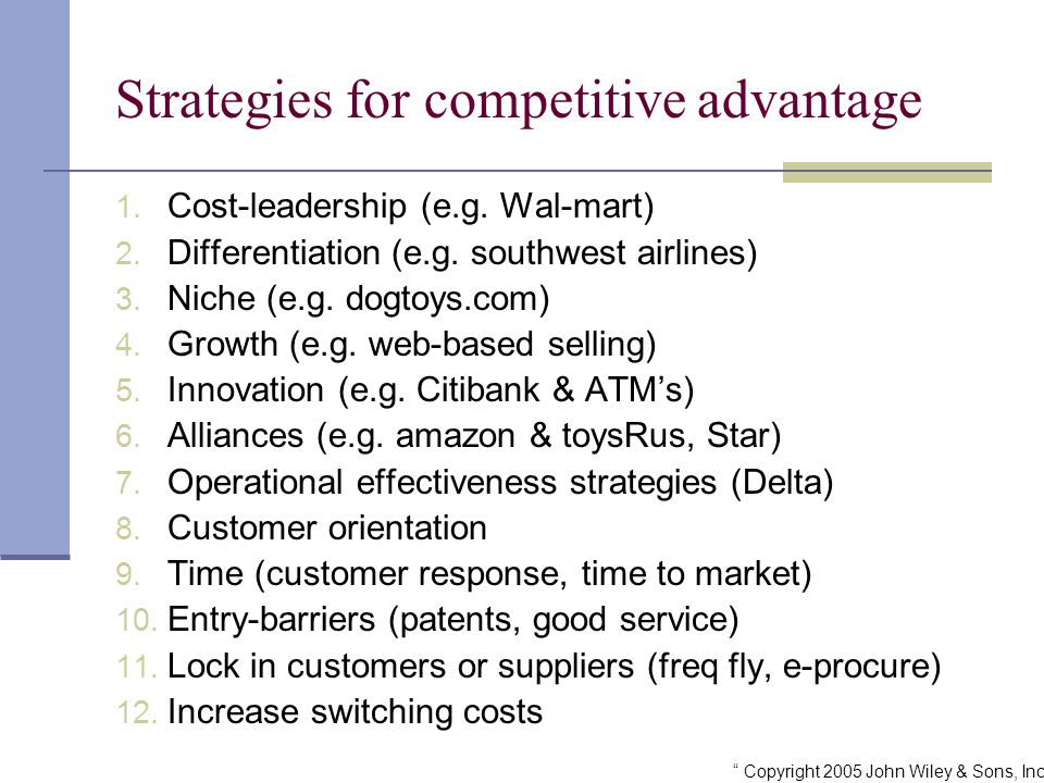 wal mart s competitive advantage sm Wal-mart's competitive advantage is driven by its low-cost, high volume strategy which aims to increase profits and customer satisfaction sustainable competitive advantage indicates a company's future success and is determined by different factors these factors include organizational.