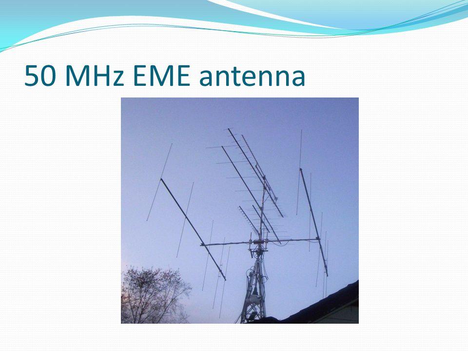 50 MHz EME antenna