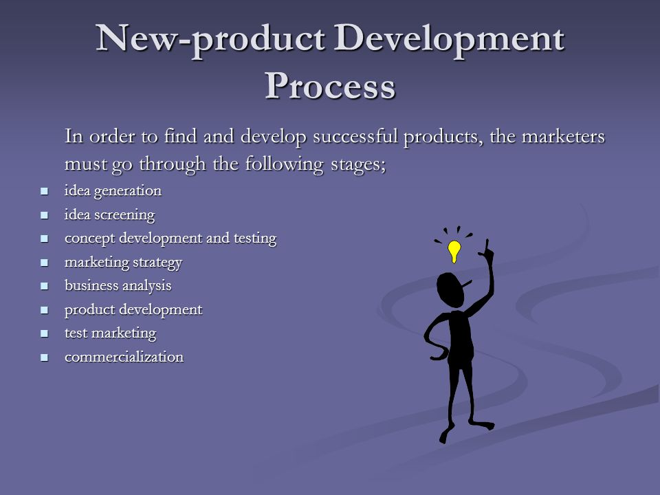 New product development and product life cycle strategies for New product development consulting