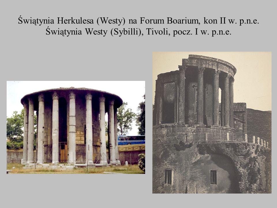 Świątynia Herkulesa (Westy) na Forum Boarium, kon II w. p. n. e
