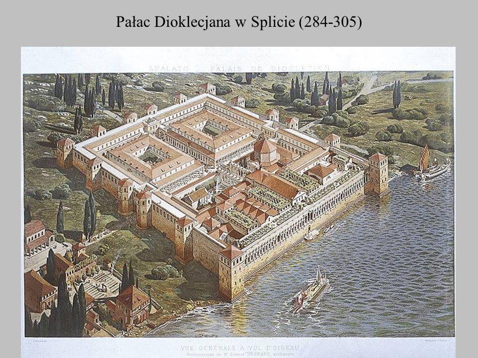 Pałac Dioklecjana w Splicie (284-305)