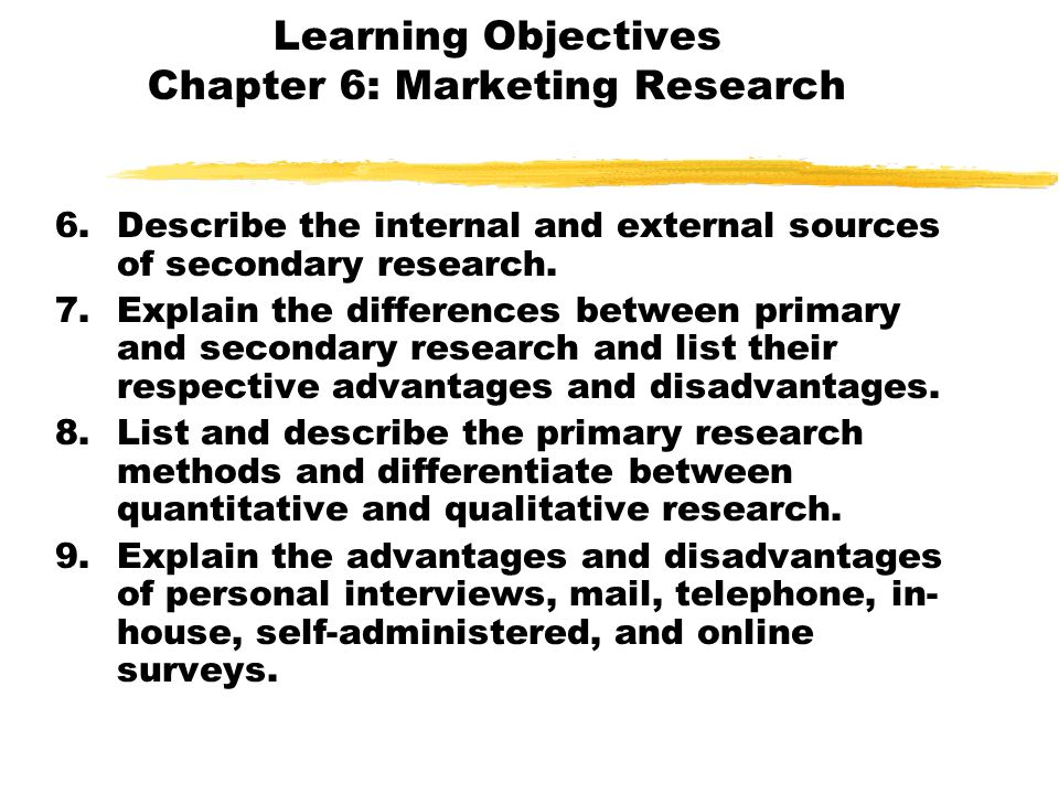chapter 12 questions on marketing research
