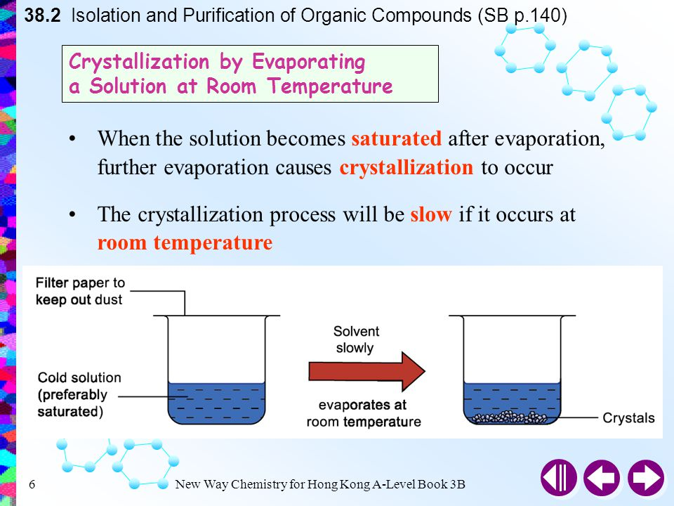 separation and purification of organic compounds essay Separation of organic mixtures and identification readily in water than in the organic purification of the neutral compound.