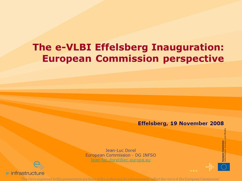European Commission - DG INFSO