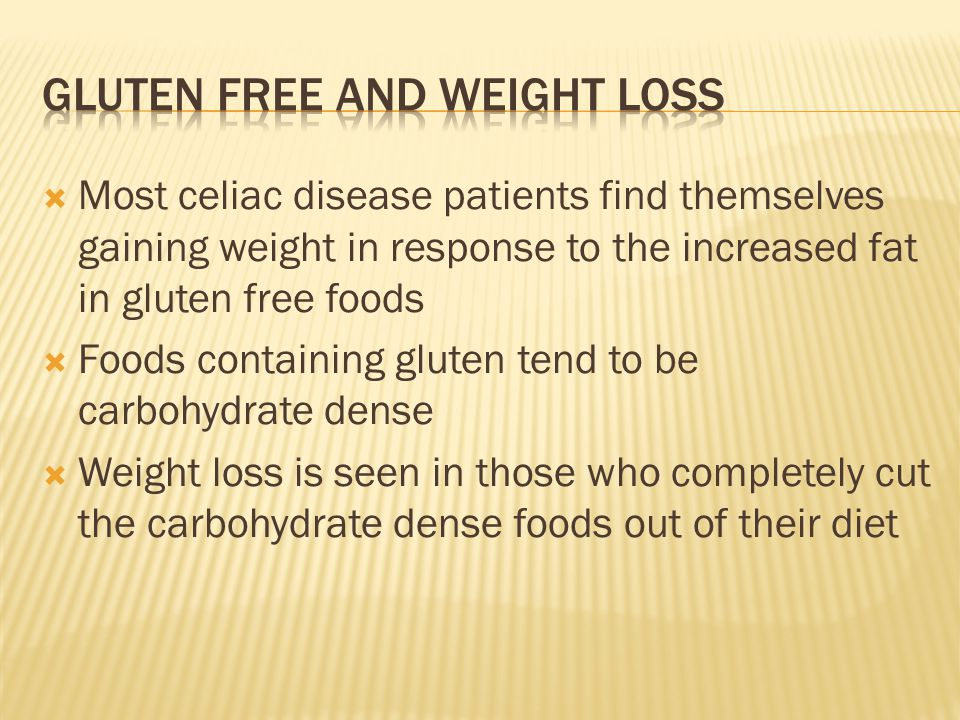 how to cut gluten out of diet