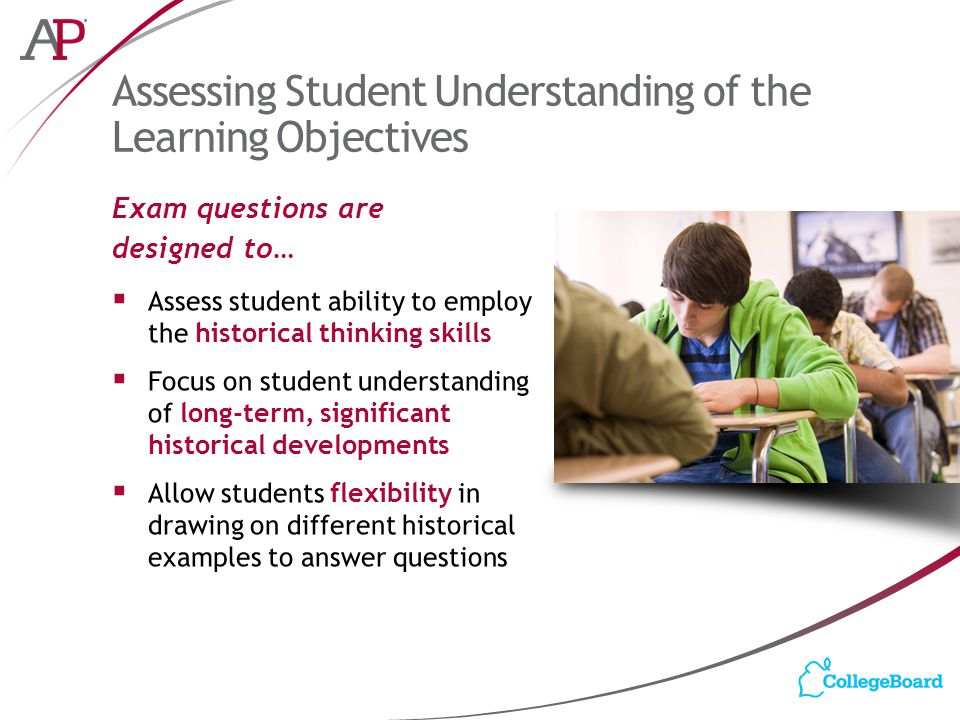 Understanding marketing objectives questions