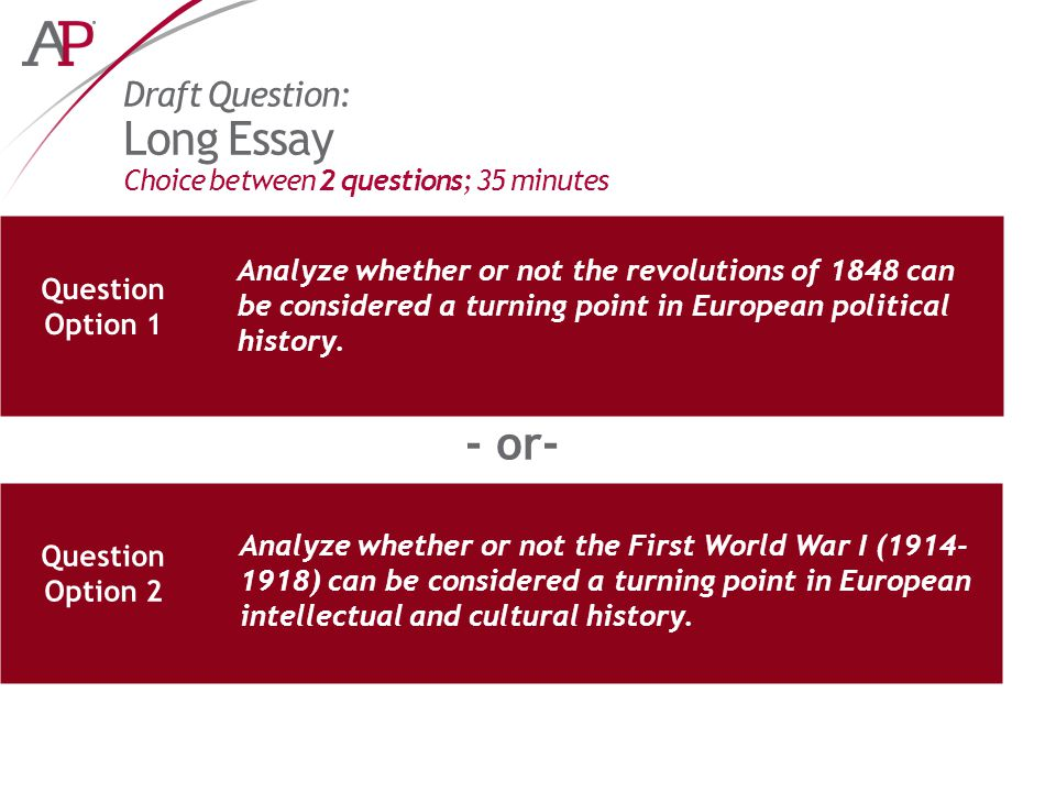 ap european history essay questions 2011 The paperback of the 550 ap european history practice questions by princeton an excellent ap european history score with 550 to write a winning essay.