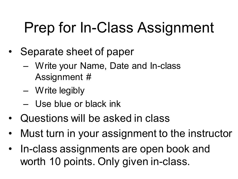 preparation for assignment The mission of the assignment division is the preparation and registration of all written, electronic and mcq (multiple choice question) assignments and assignment.