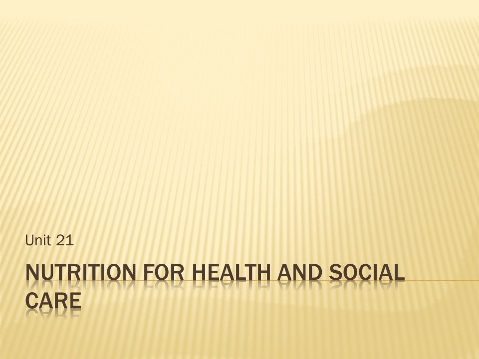 Nutrition and Health Science (BSc Honours) (Level 8)