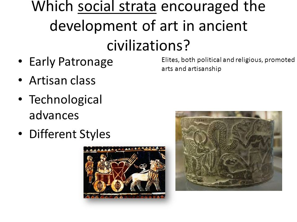 significant developments of ancient civilizations Only four ancient civilizations--mesopotamia, egypt, the indus valley, and china--provided the basis for continuous cultural developments in the same location after the minoan society on crete was destroyed, its cultural traditions and legends passed into the life of mainland greece.