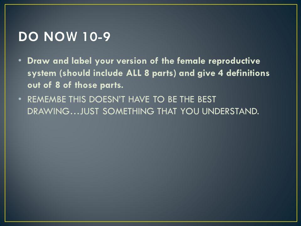 DO NOW 10-9
