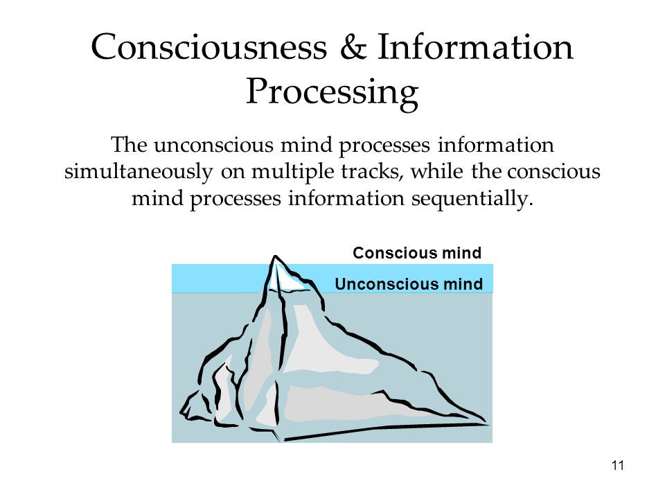 unconscious information processing in humans essay Even the most open-minded person harbors a lot of unconscious biases  the  brain can only process about 40 of those bits of information and.