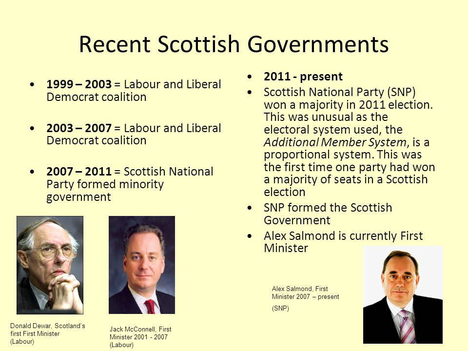 a focus on the scottish nationalism and parliament system – in the scottish parliament john swinney scottish national party the scottish education system devolves decision making to local.