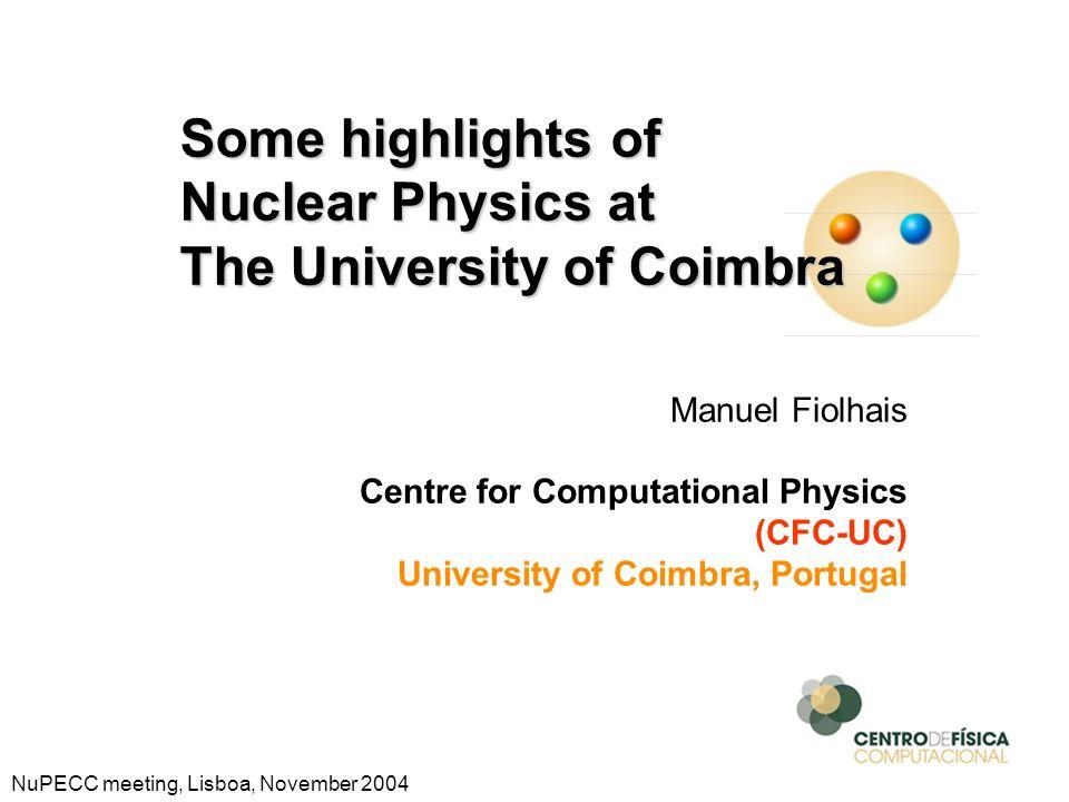 The University of Coimbra