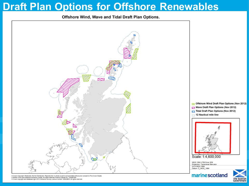 Draft Plan Options for Offshore Renewables