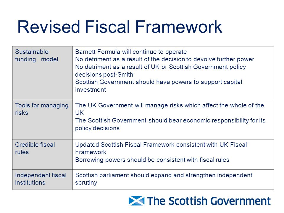 A Scottish Fiscal Framework - ppt download