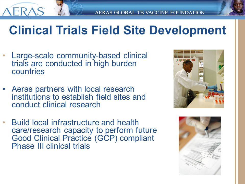 pediatric tb and hiv the potential of new tb vaccines With clinical research field