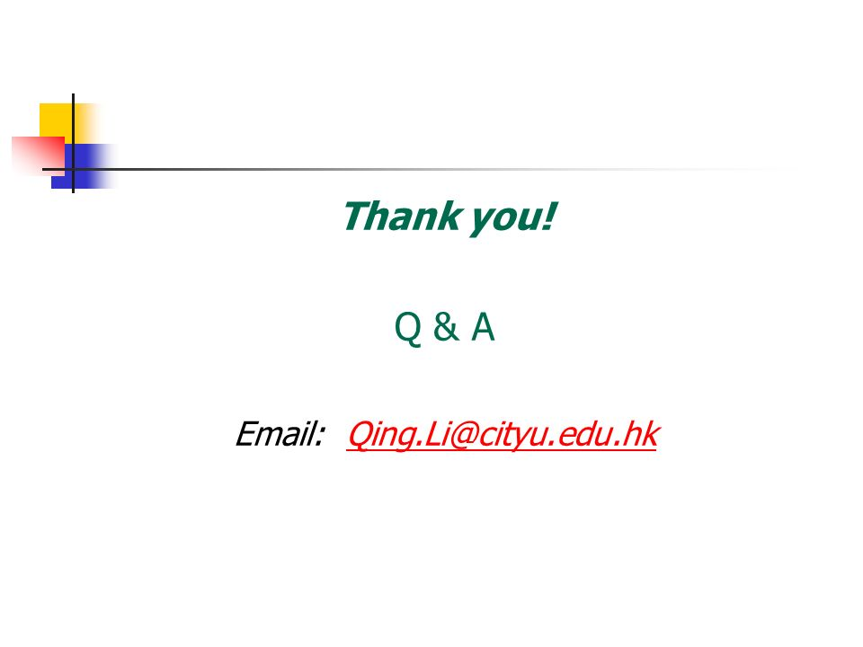 Email: Qing.Li@cityu.edu.hk