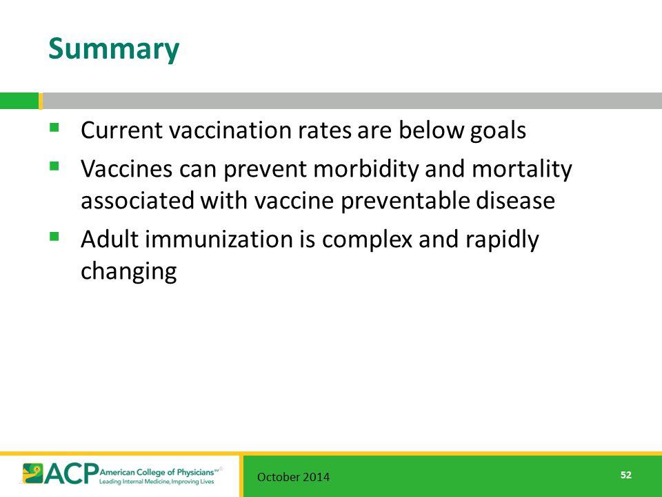 Adult immunization power point presentations
