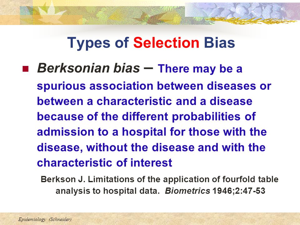 how to avoid selection bias