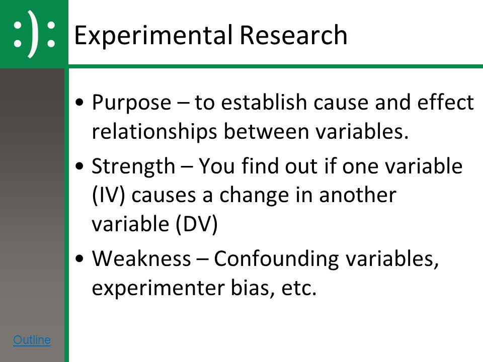 research design causal relationship between variables