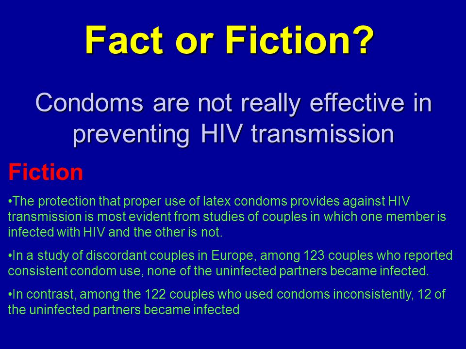 Where can Condoms protecting against aids